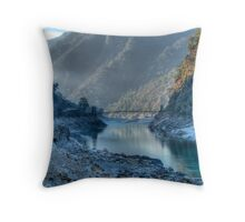 Devpryag At Misty Sunrise Throw Pillow