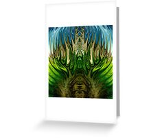 modern composition 17-B by rafi talby Greeting Card