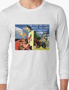 4D World View Long Sleeve T-Shirt