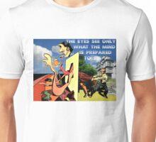 4D World View Unisex T-Shirt