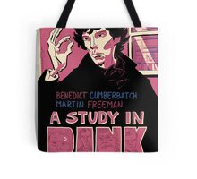 Vintage Poster - A Study In Pink Tote Bag