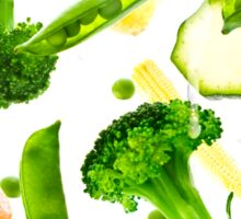 Healthy Vegetables Sticker