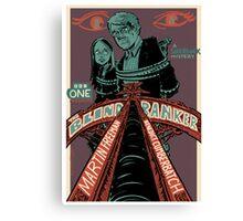 Vintage Poster - The Blind Banker Canvas Print
