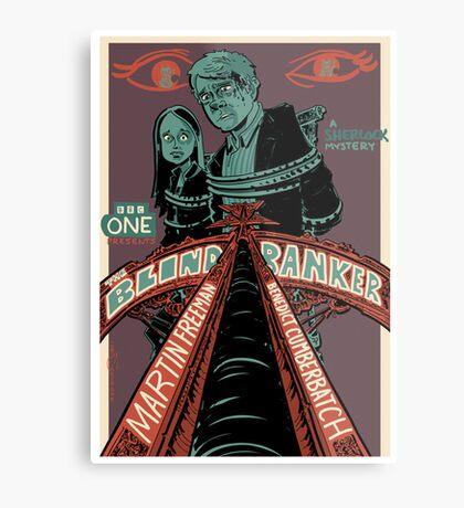 Vintage Poster - The Blind Banker Metal Print