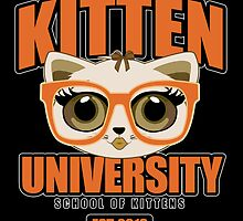 Kitten University - Orange 2 by Adamzworld
