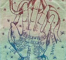 Gypsy Palmistry Hand by BethHowell
