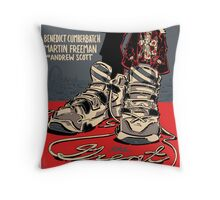 Vintage Poster - The Great Game Throw Pillow