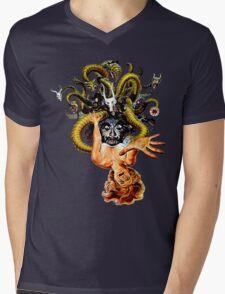 Dunwich Lovecraft Mens V-Neck T-Shirt