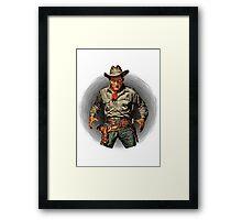 Classic Gunslinger Framed Print