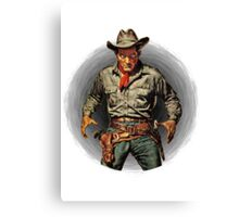 Classic Gunslinger Canvas Print