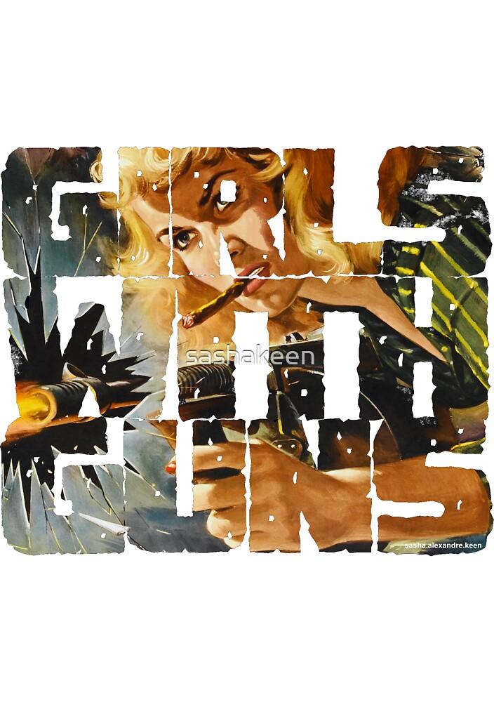 Girls With Guns Logo by sashakeen