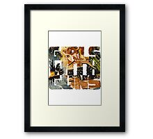 Girls With Guns Logo Framed Print