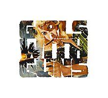 Girls With Guns Logo Photographic Print