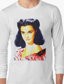 Vivien Leigh in Gone with the Wind Long Sleeve T-Shirt