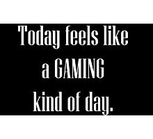Game All Day Photographic Print