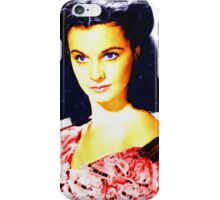Vivien Leigh in Gone with the Wind iPhone Case/Skin