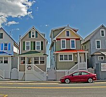 Painted Ladies of Somers Point NJ by GalleryThree