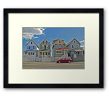 Painted Ladies of Somers Point NJ Framed Print