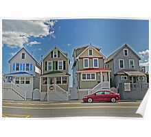 Painted Ladies of Somers Point NJ Poster