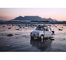 FIAT on Blouberg Beach Photographic Print
