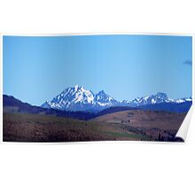 Cascade Range Poster