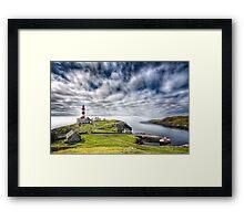 Eilean Glas Lighthouse Framed Print