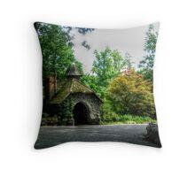 Gardener's Cottage, Skylands Manor Throw Pillow