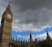 Big Ben Tower of London by rileymwelsh