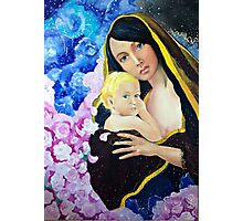 Mary and child Photographic Print