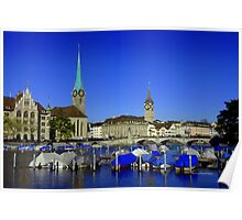 Limmat River Poster