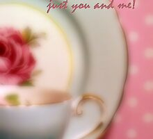Time for Tea Just You and Me by Karen Lewis