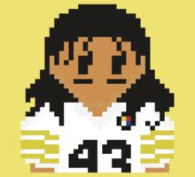 8Bit Troy Polamalu 3nigma by CrissChords