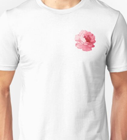 Watercolor Flower Unisex T-Shirt