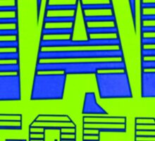 Mad Decent - Green & Bleu Sticker