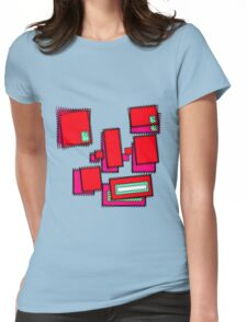 Face Fuzz  Womens Fitted T-Shirt
