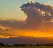 Colorado Atomic Sunset by Gregory J Summers
