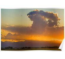 Colorado Atomic Sunset Poster