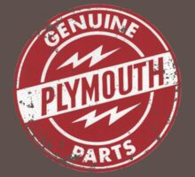 Genuine Plymouth Parts Red by No17Apparel