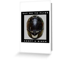 Say no to flies Greeting Card