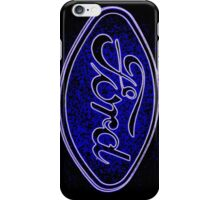 Neon Ford iphone iPhone Case/Skin