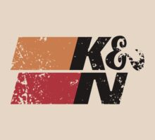 K&N Racing Performance Filters Light Colours by No17Apparel