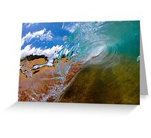 Clear sand Greeting Card