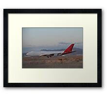 Alone and No Where to Go Framed Print