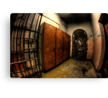 Maitland Gaol Locker Room Canvas Print