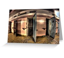 Maitland Gaol Cell Room Greeting Card