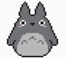 Tiny Pixel Totoro Kids Clothes