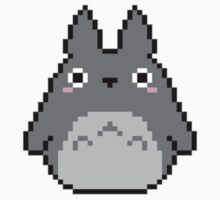 Tiny Pixel Totoro Kids Clothes