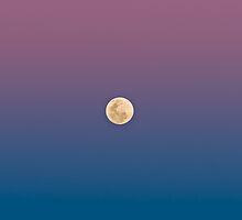 Dusk Moon by Matt Mason