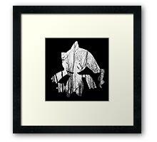 Banette used curse Framed Print