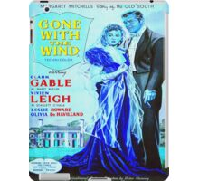 English poster of Gone with the Wind iPad Case/Skin